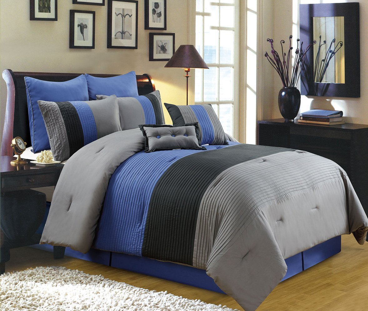 King Size Bed Comforter Sets | Amazon King Size Comforter | Navy Blue Comforter