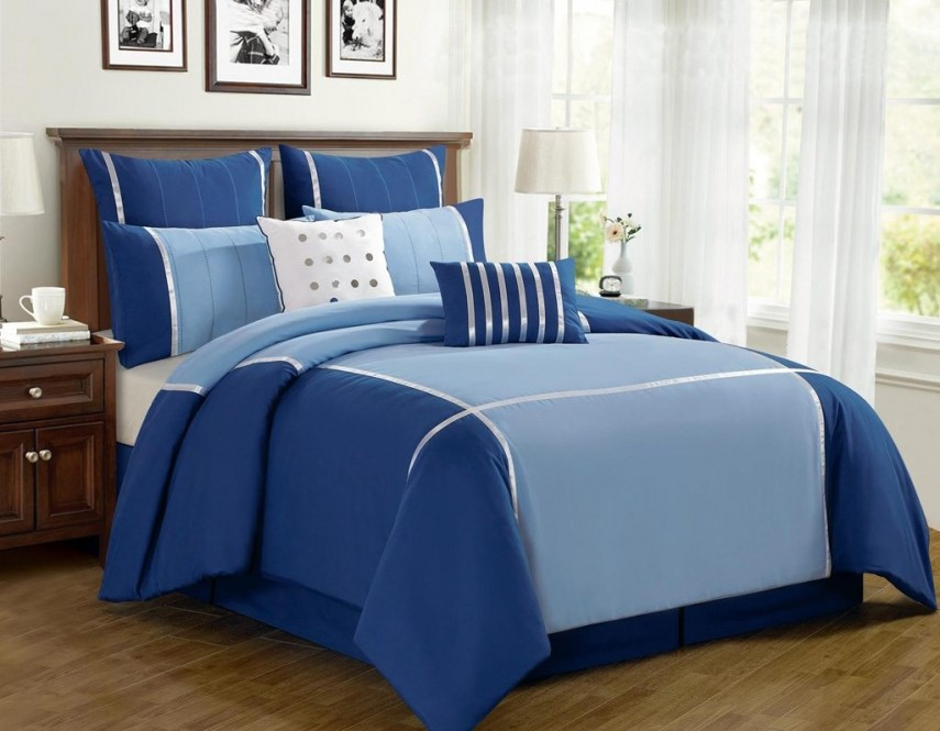 King Size Comforter Sets | Navy Blue Comforter | Grey Comforters