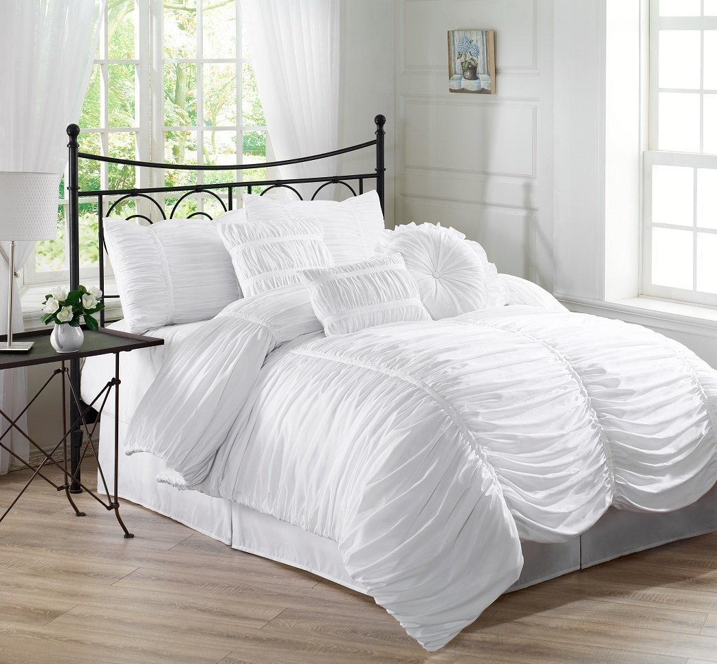 Using White Duvet Cover Queen for Gorgeous Bedroom Decoration Ideas: King Size Duvet | White Duvet Cover Queen | Ikea Duvet Cover