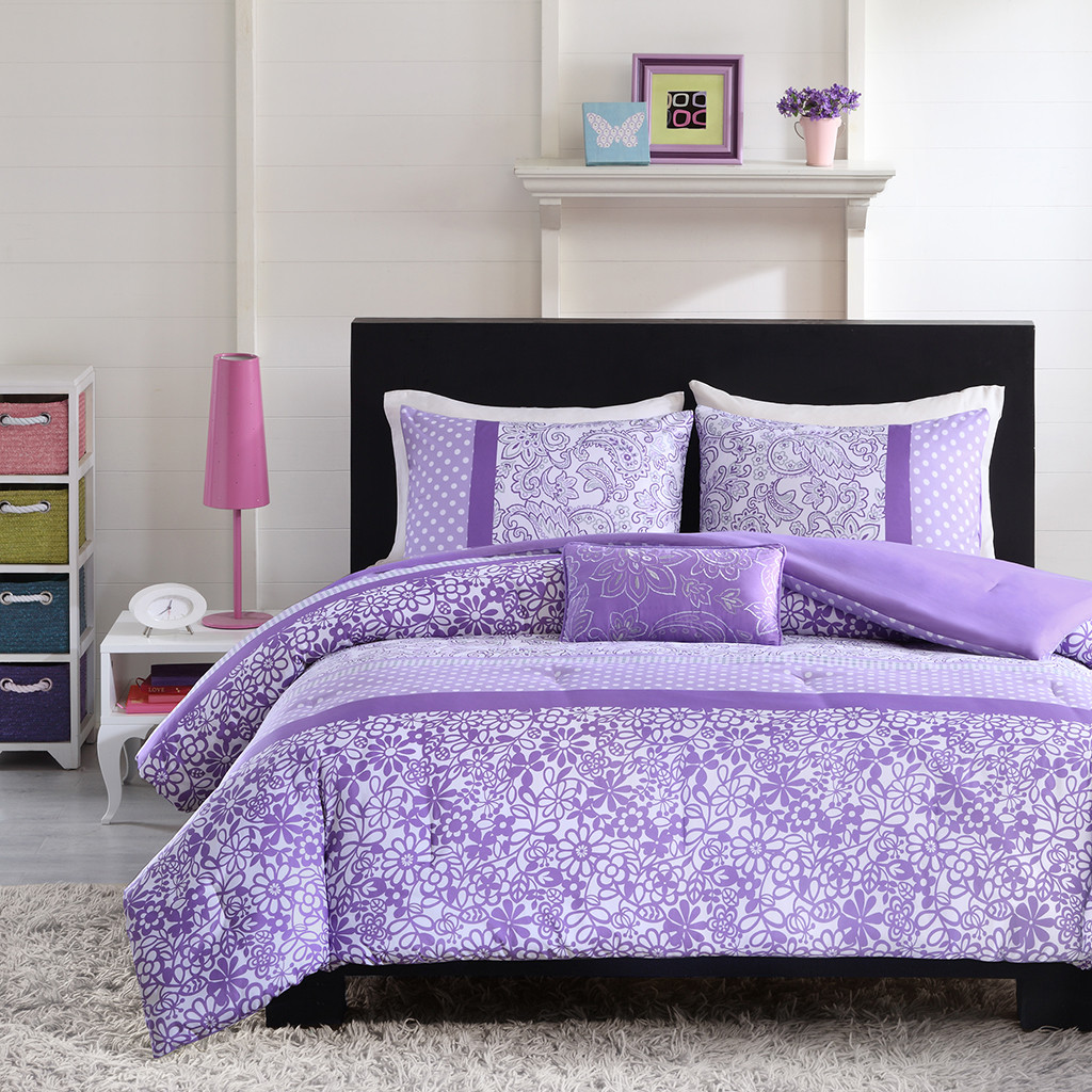 King Size Purple Comforter Sets | Purple California King Comforter Sets | Purple Comforter Sets