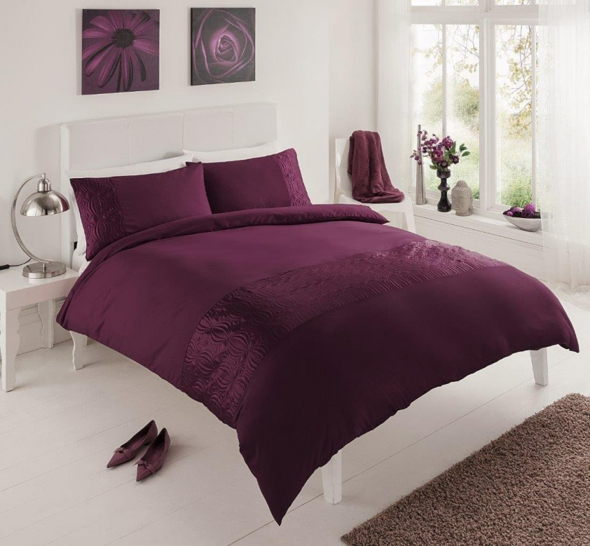 King Size Purple Duvet Covers | King Size Duvet Covers | White King Size Duvet Cover Set