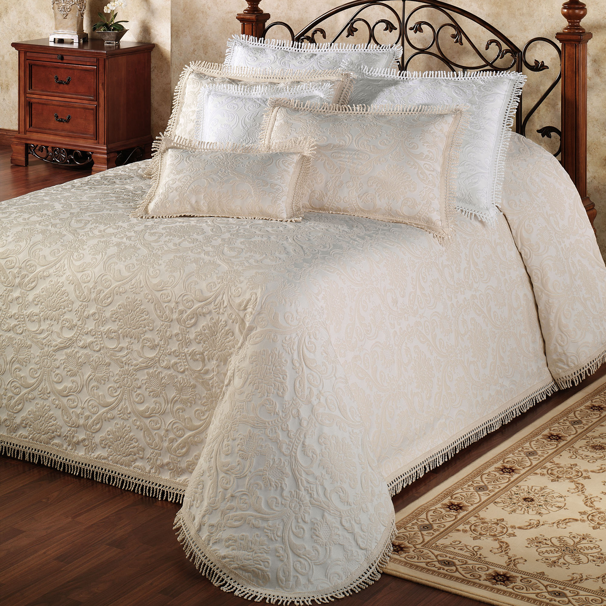 King Size Quilted Bedspreads | Matelasse Bedspreads King | Matelasse Bedspreads