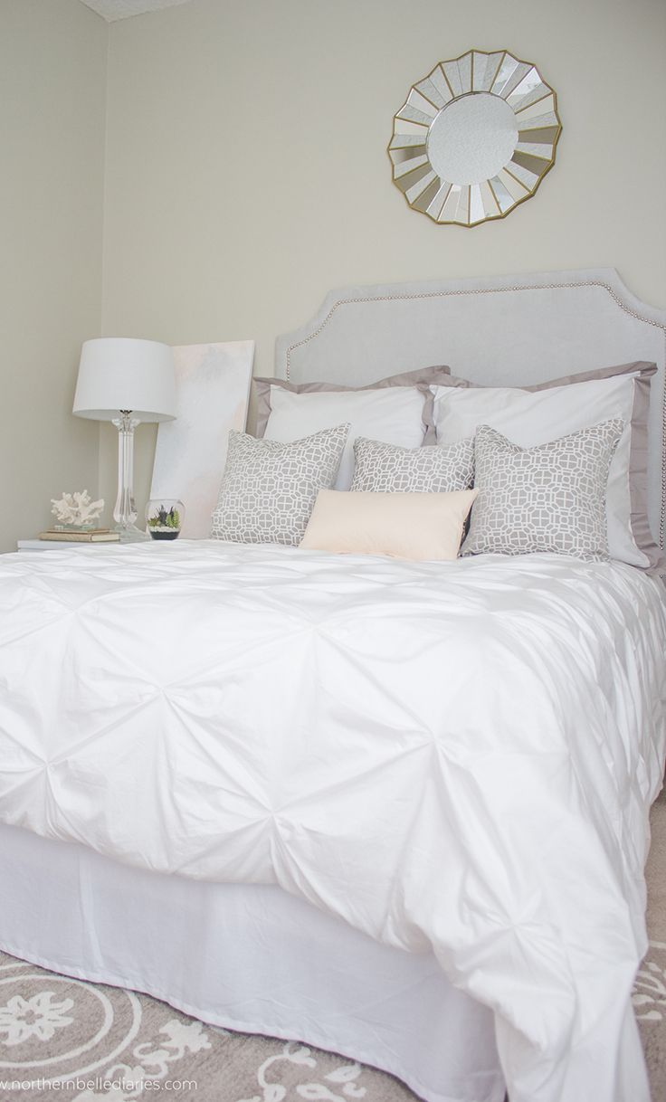 King Size White Duvet Cover | Textured White Duvet Cover | White Duvet Cover