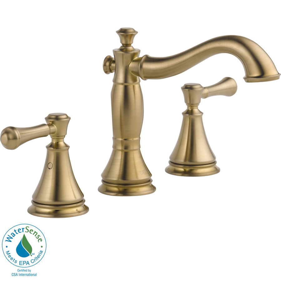 Kitchen Faucets Reviews | Delta Cassidy Faucet | Delta Champagne Bronze