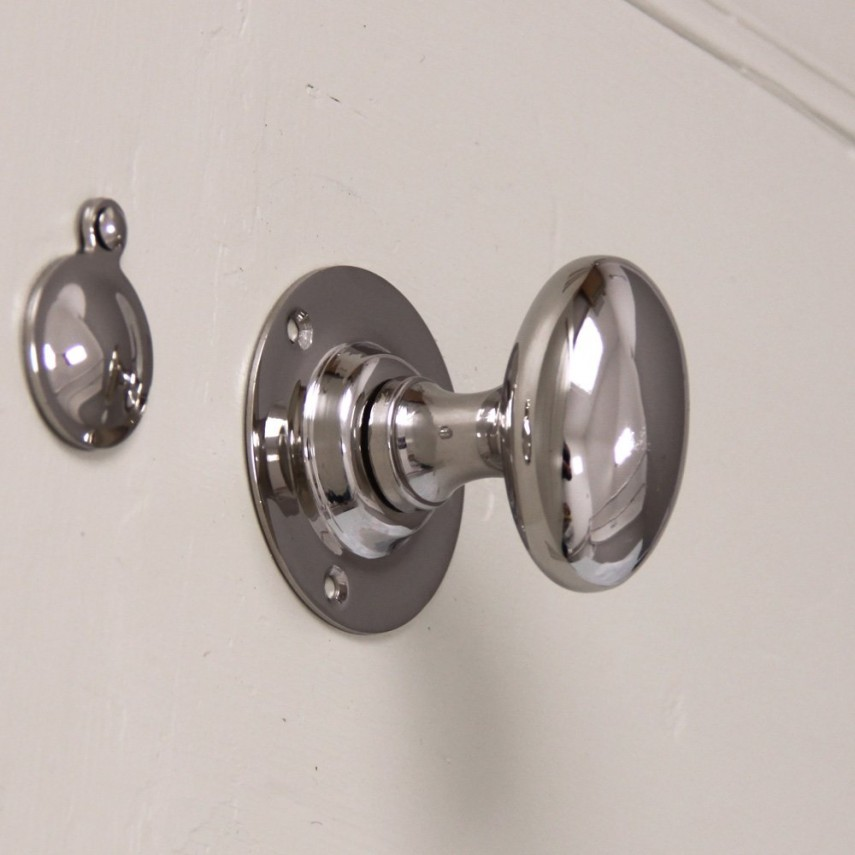 Kwikset Door Handle | Glass Doorknobs | Brushed Nickel Door Knobs