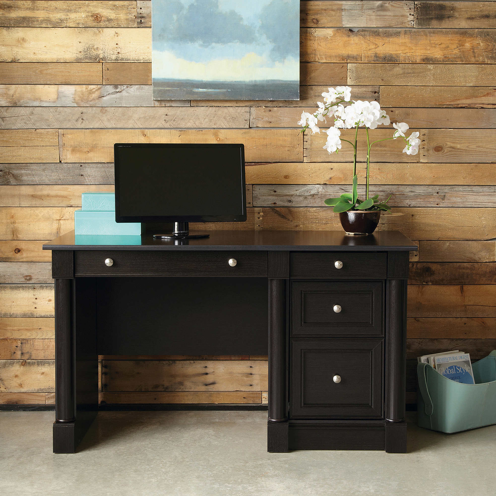 L Shaped Desks with Hutch | Sauder Beginnings Computer Desk | Sauder Computer Desks