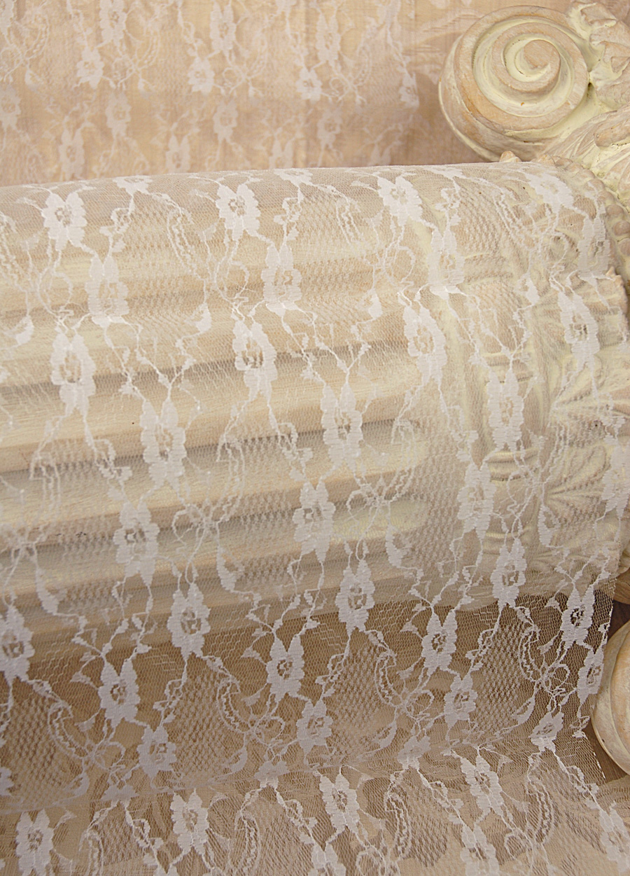 Lace Table Runners | 120 Table Runner | Grey Table Runner
