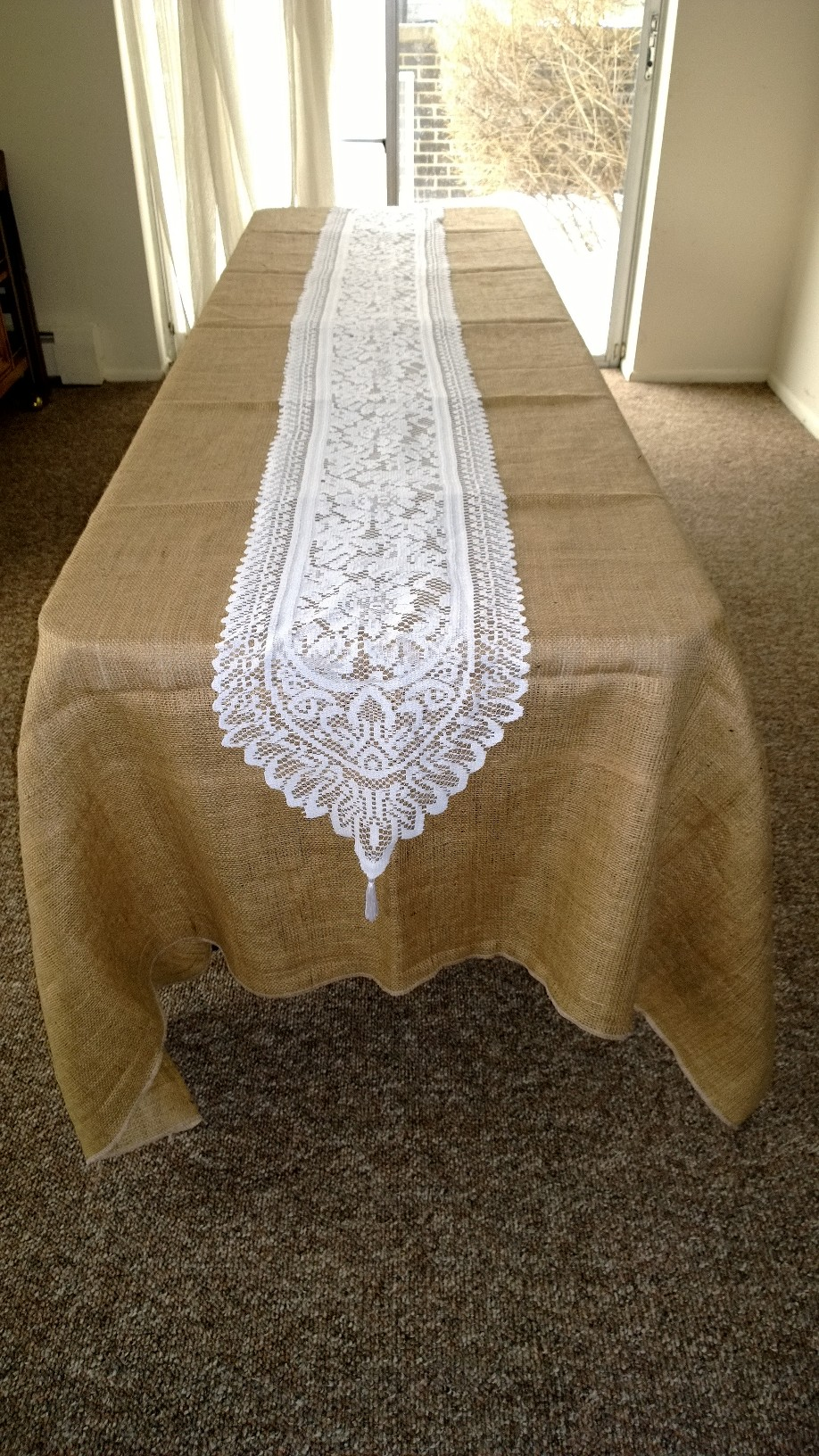 Lace Table Runners | Christmas Plaid Table Runner | Antique Lace Table Runners