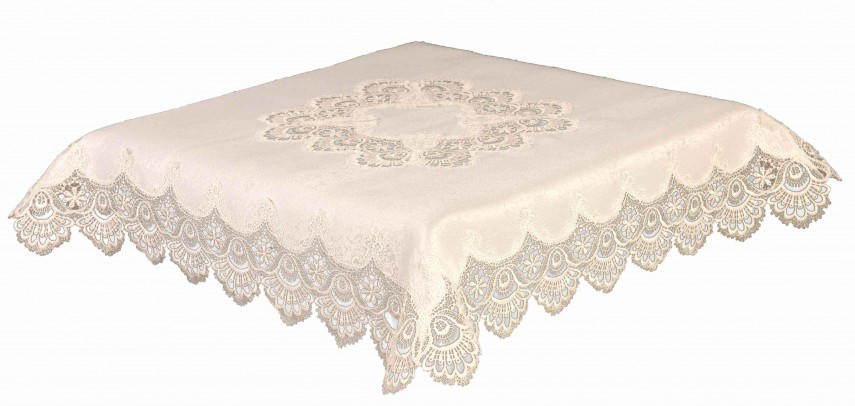 Lace Tablecloth Rentals | Lace Tablecloths | Large Round Tablecloth