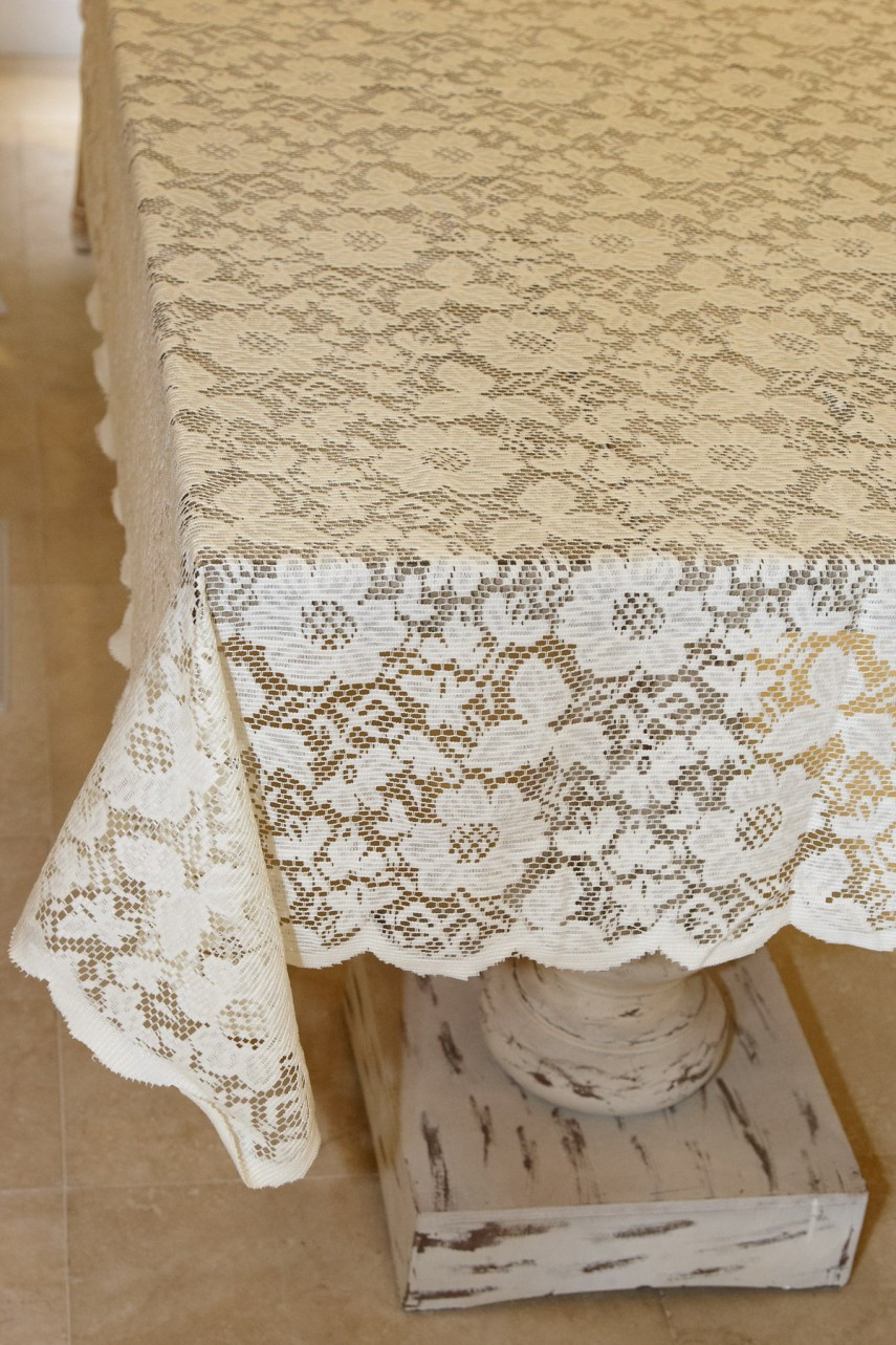 Lace Tablecloths | Lace Round Tablecloths | Target Tablecloth