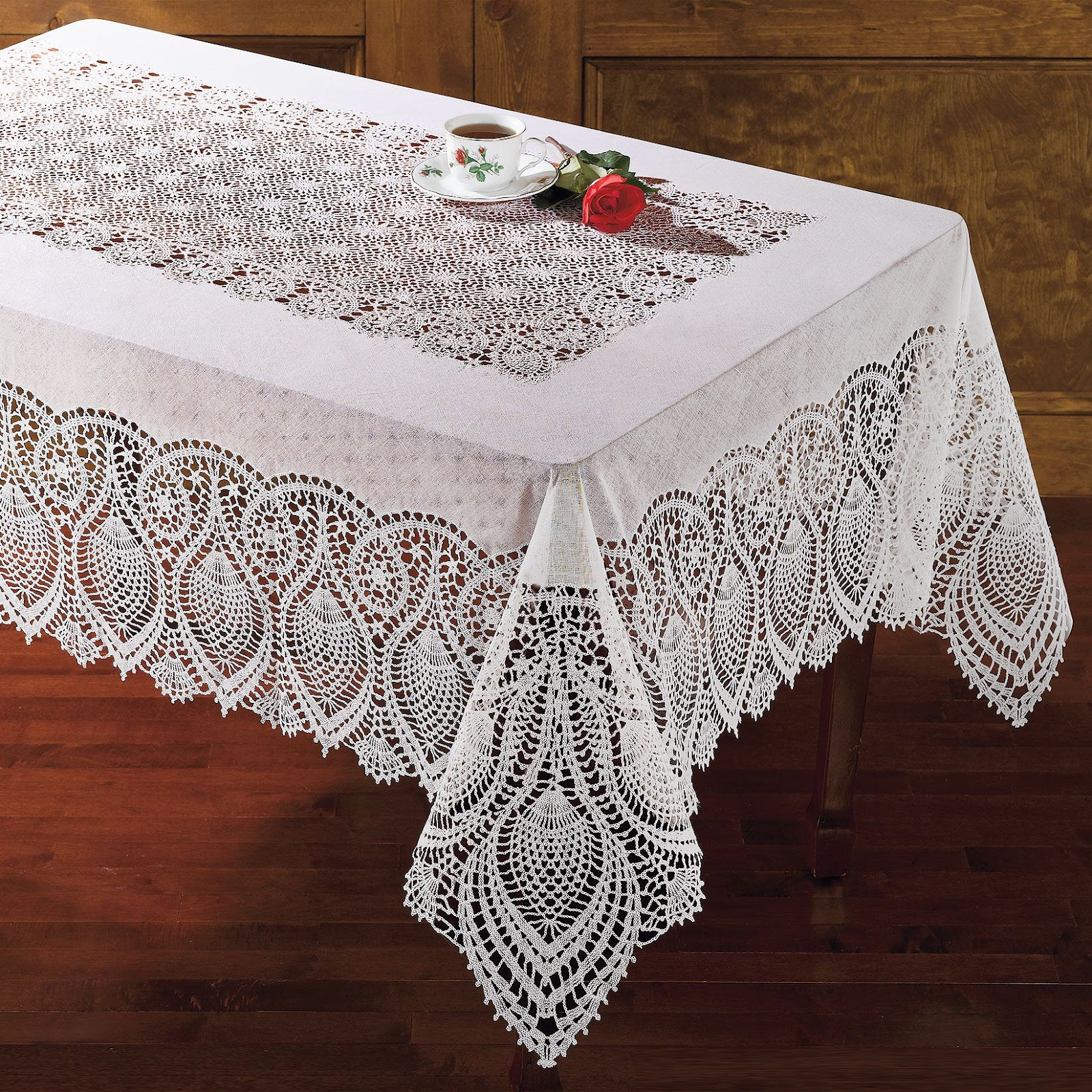 Lace Tablecloths | Lace Tablecloth | Round Lace Tablecloth