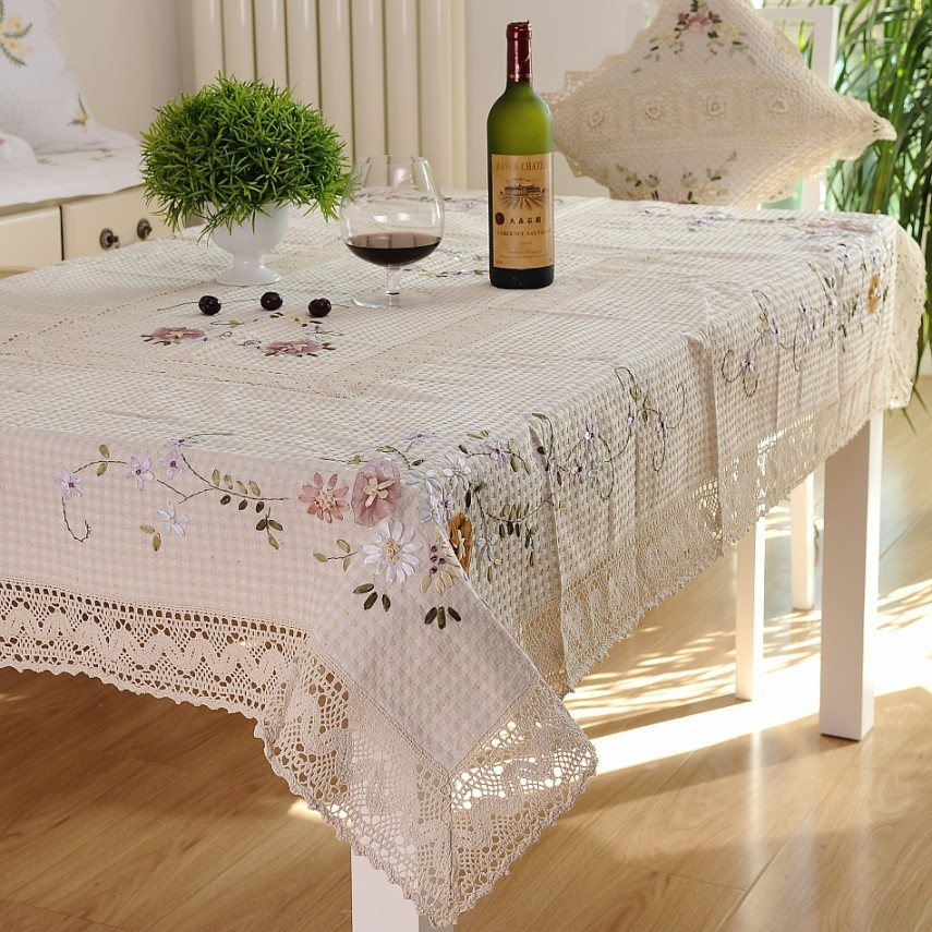 Lace Tablecloths | Outdoor Round Tablecloth | Target Christmas Tablecloth