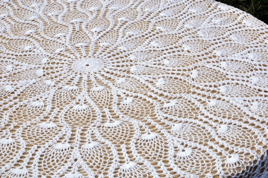 Lace Tablecloths | Round Halloween Tablecloth | Beautiful Tablecloths