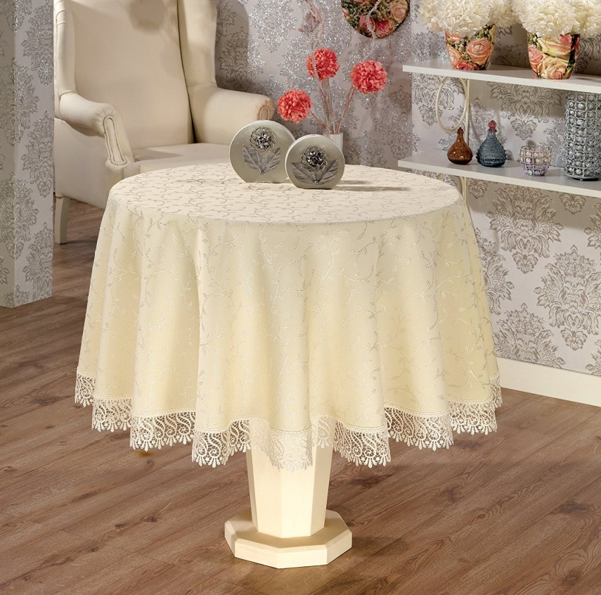 Lace Tablecloths | Vinyl Tablecloths | 120 Inch Round Tablecloth