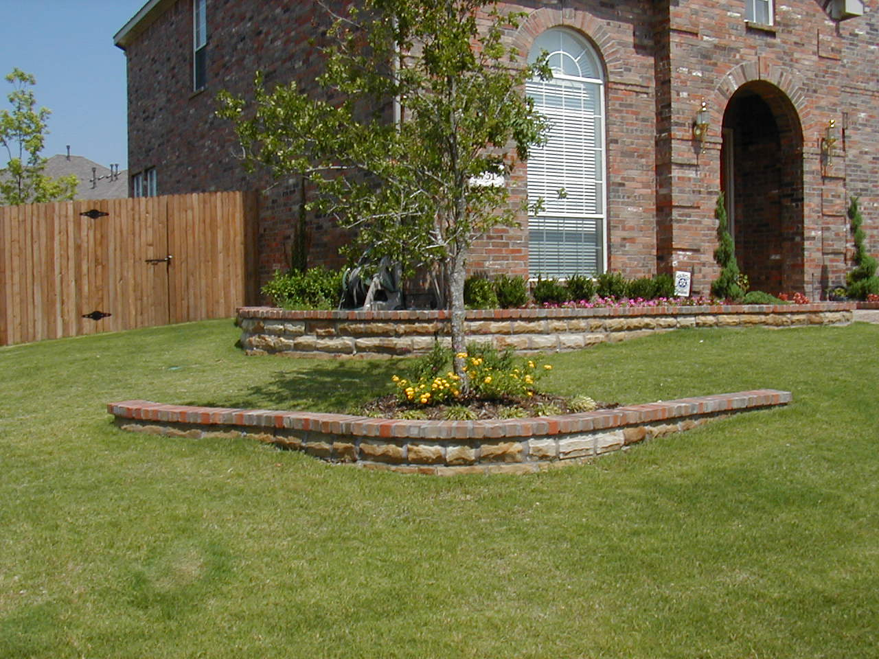 Landscape Edging Ideas | Brick Edging Home Depot | Brick Landscape Edging Ideas
