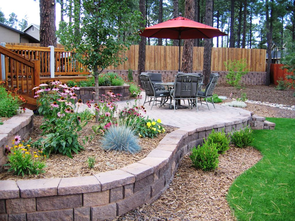 Landscape Edging Ideas | Edging Flower Beds | Home Depot Paver Edging
