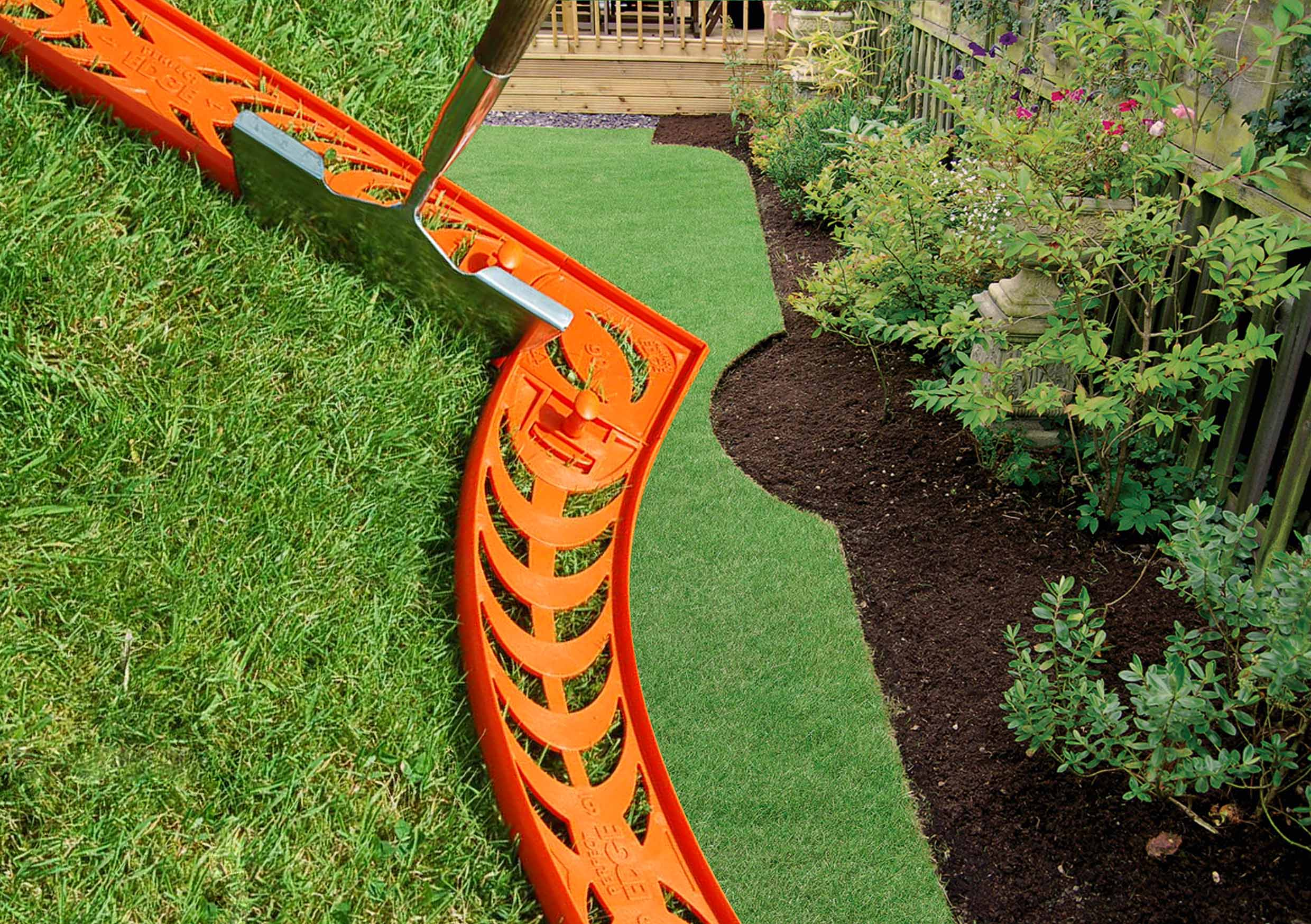 Landscape Edging Ideas | Garden Border Edging | Edging Stones Home Depot