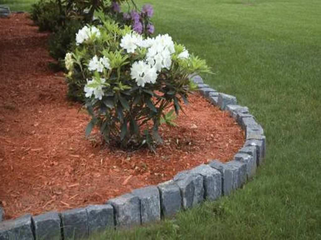 Landscape Edging Ideas | Landscape Stone Edging | Lowes Landscape Edging