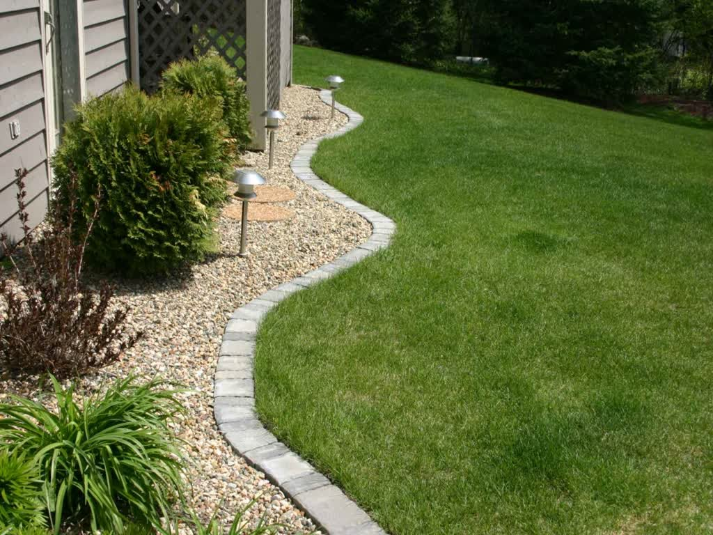 Landscaping Edger | Landscape Edging Ideas | Home Depot Bricks