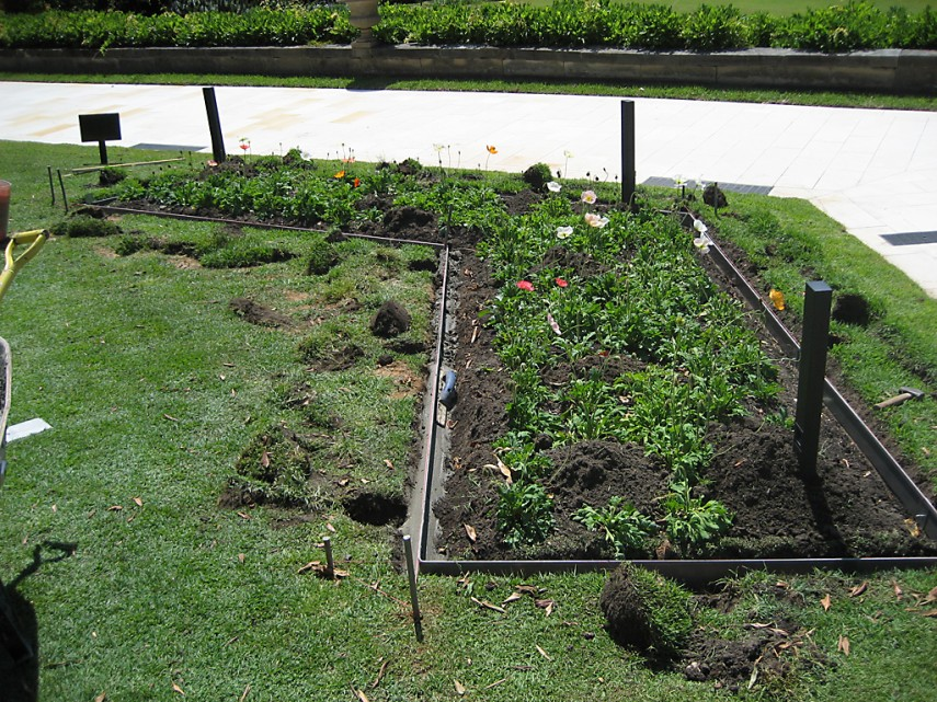 Landscaping Edging Metal | Home Depot Landscaping Edging | Metal Landscape Edging