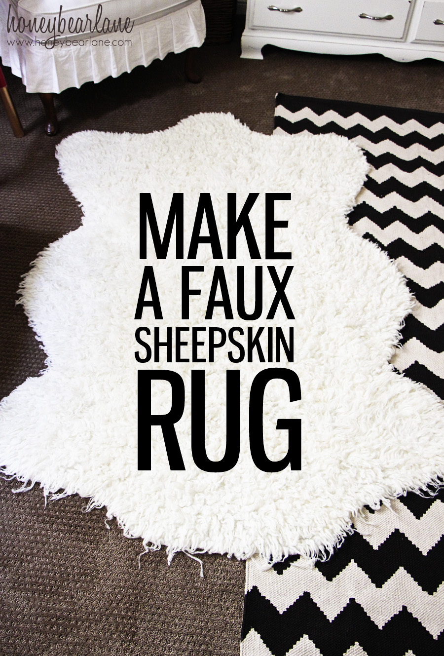 Large Faux Fur Rug | Fur Rugs for Sale | Fur Rug