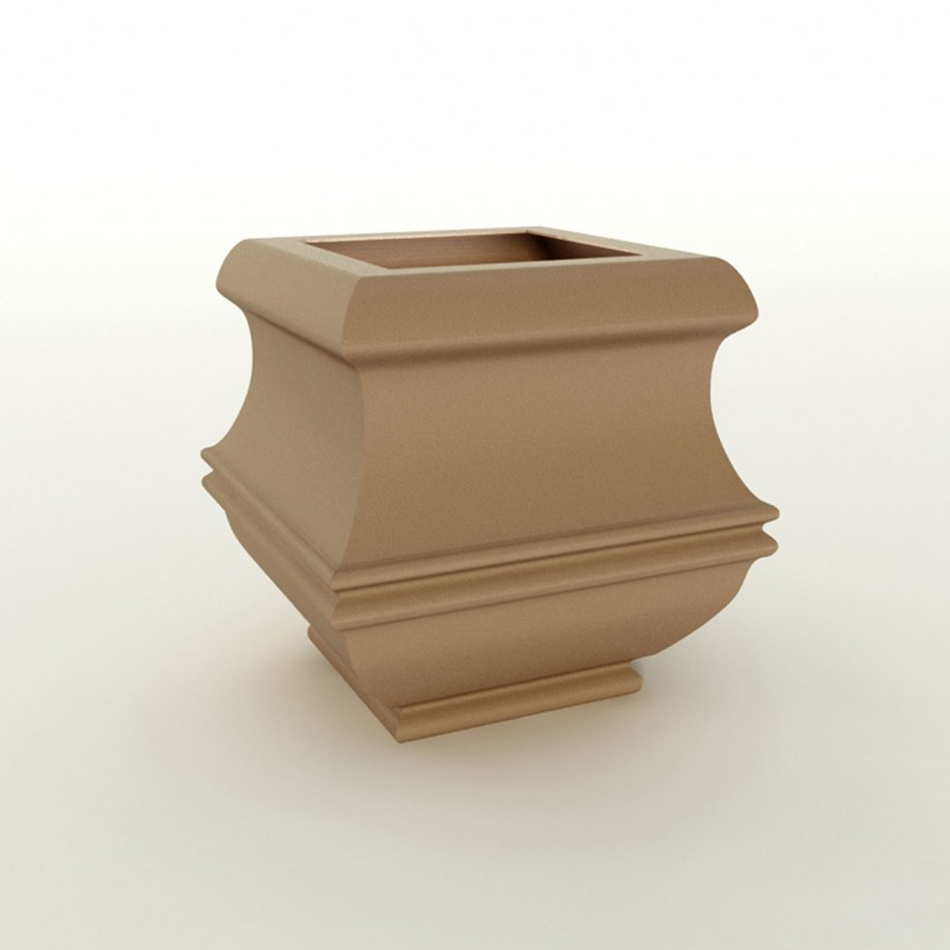 Large Lightweight Planters | Outdoor Planter Boxes | Fiberglass Planters