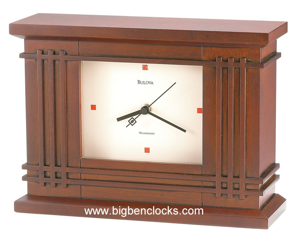 Large Mantle Clock | Bulova Alarm Clocks | Bulova Mantel Clock