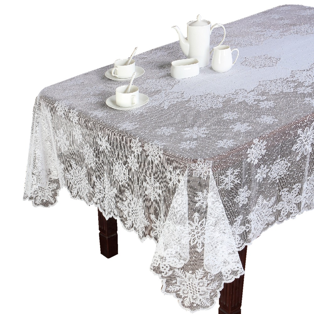 decor lovely lace tablecloths for dining table decoration ideas