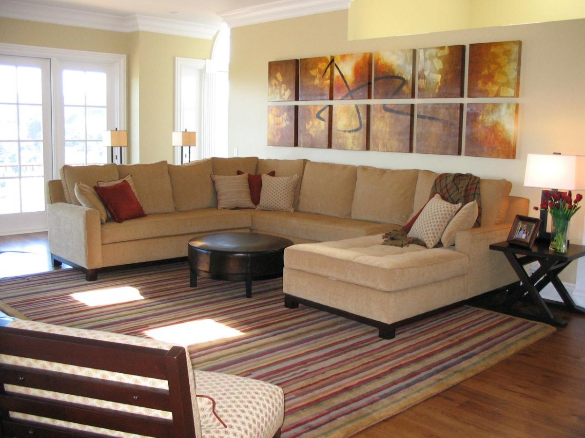 Large Sectional Sofa with Chaise Lounge | L Shaped Couches | Large Sectional Sofas