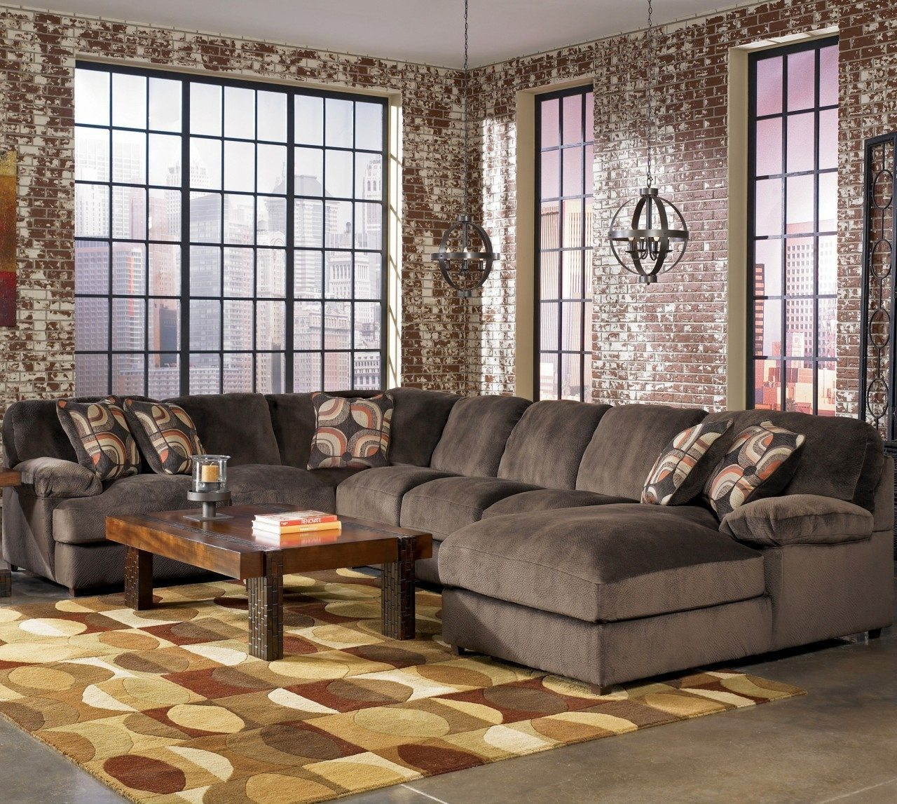 Furniture Large Sectional Sofas Ashley Furniture