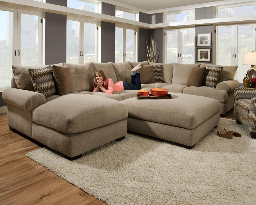 Large Sectional Sofas | Discount Sofas | Tufted Sectional Sofa
