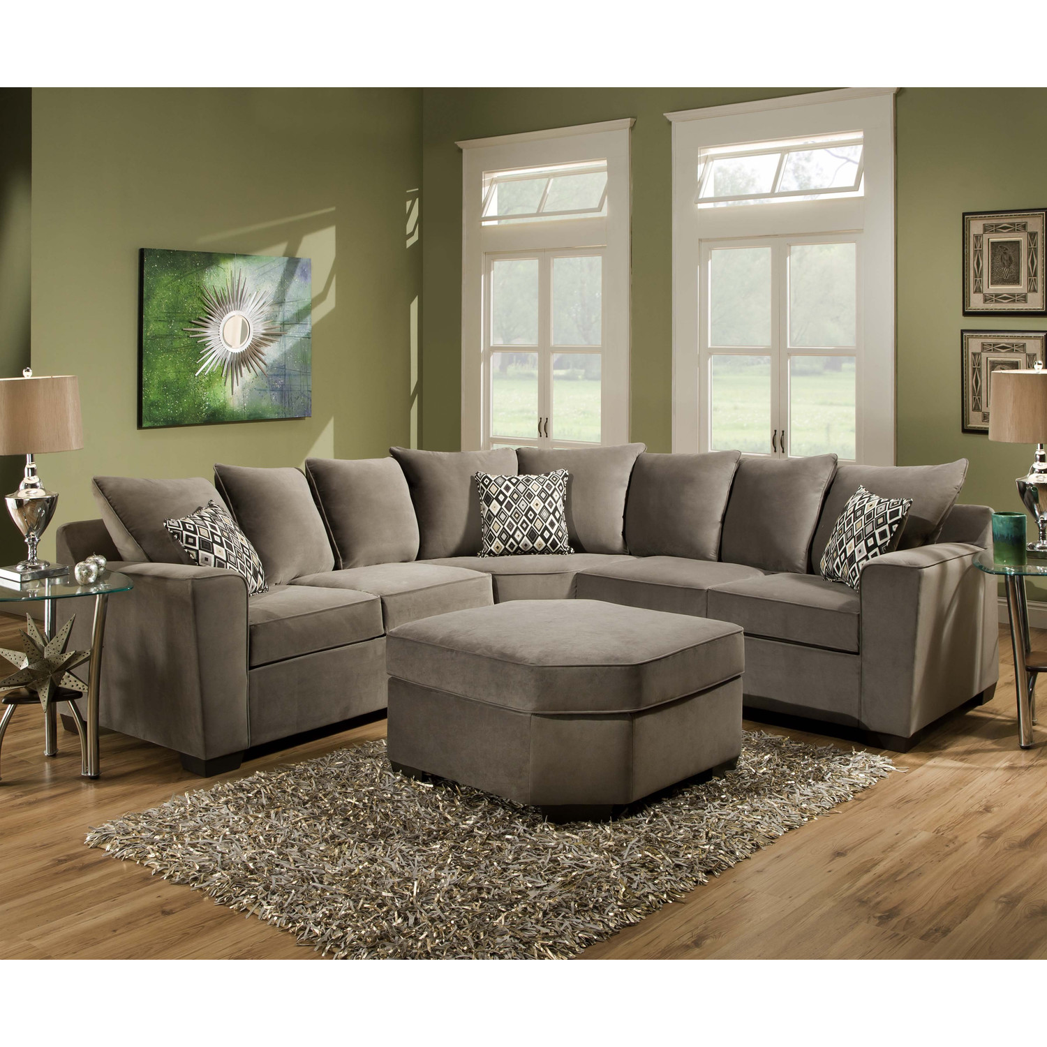 Large Sectional Sofas | Extra Large Sectional Sofa | Large Deep Sectional Sofas