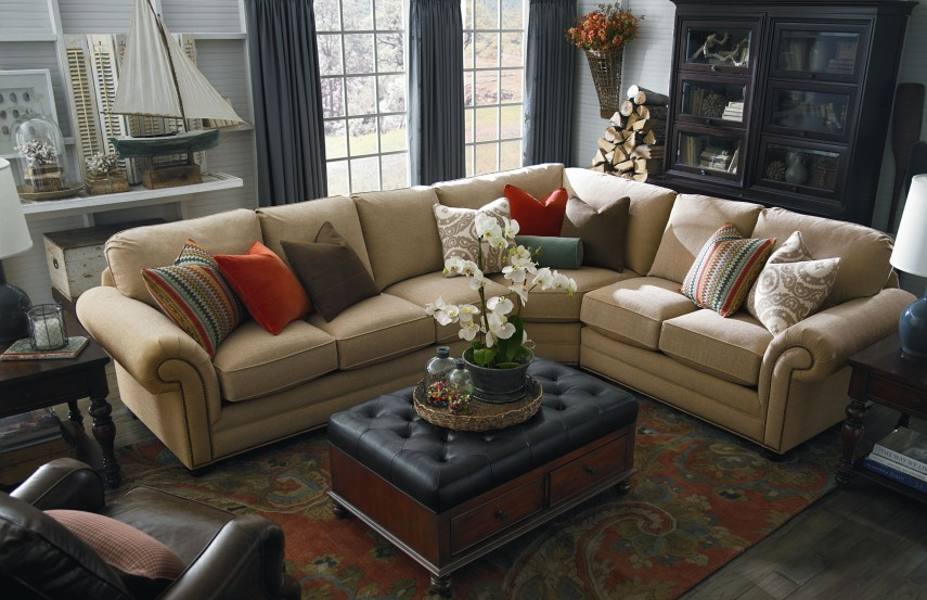 Large Sectional Sofas | Large Sectional Leather Sofas | Cuddler Sectional