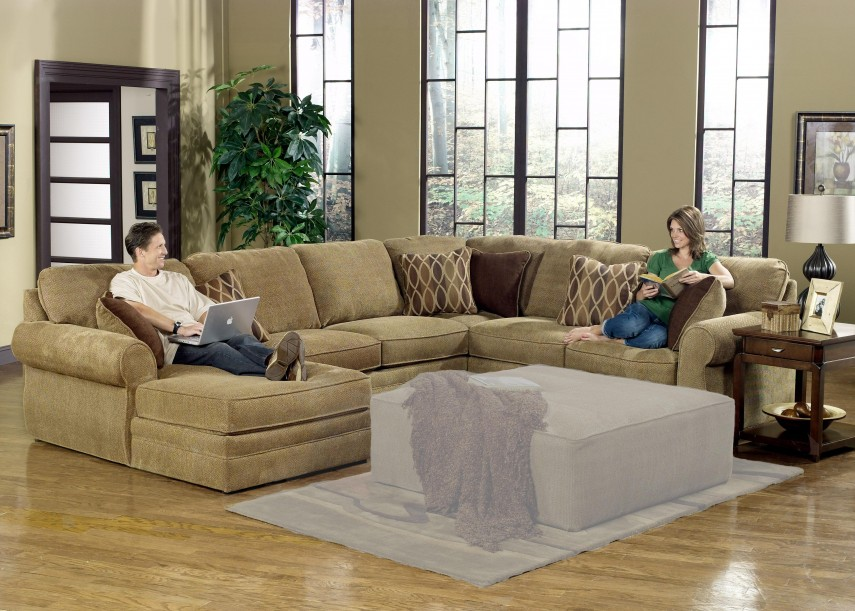Large Sectional Sofas | Leather Sectional | Deep Couches