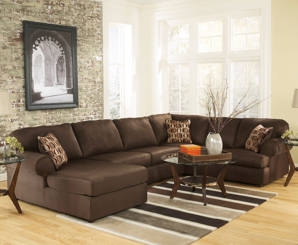 Furniture Contemporary Large Sectional Sofas For Living