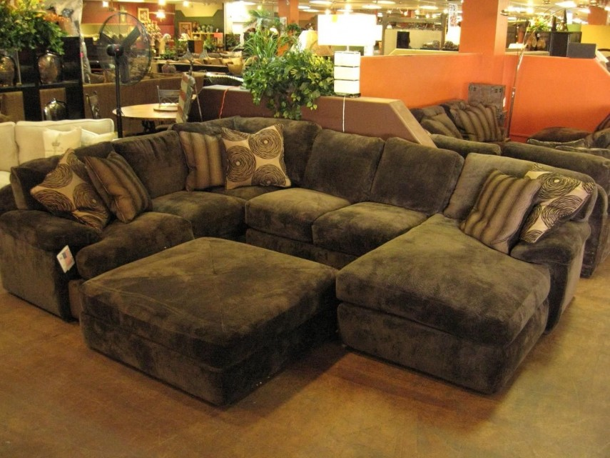 Large Sectional Sofas | Sectional Sleeper | Microfiber Sectional