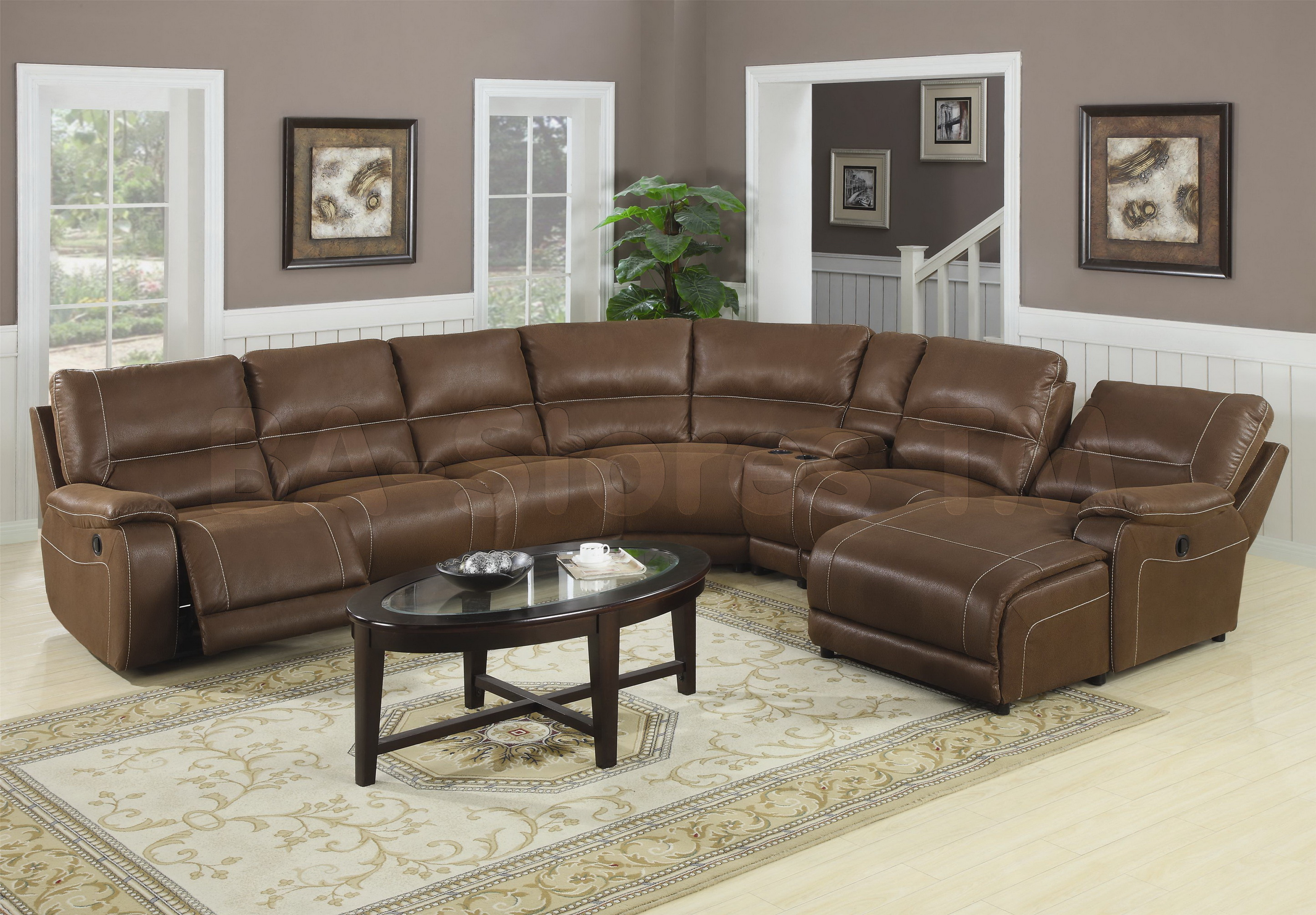 Large Sectional Sofas | Tufted Sectional | Chaise Couch