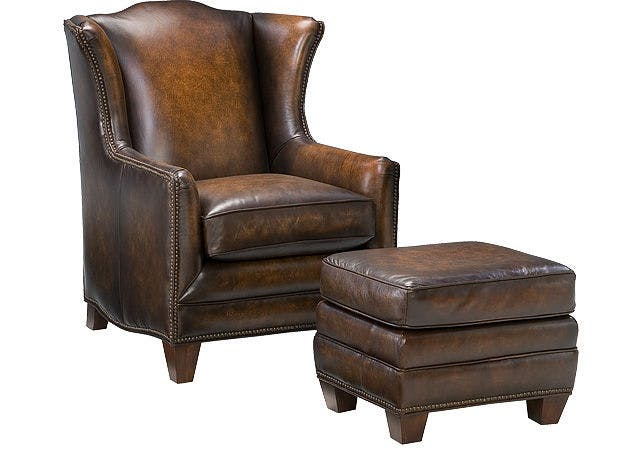 Leather Chair and Ottoman | Ikea Chairs Living Room | Swivel Club Chair
