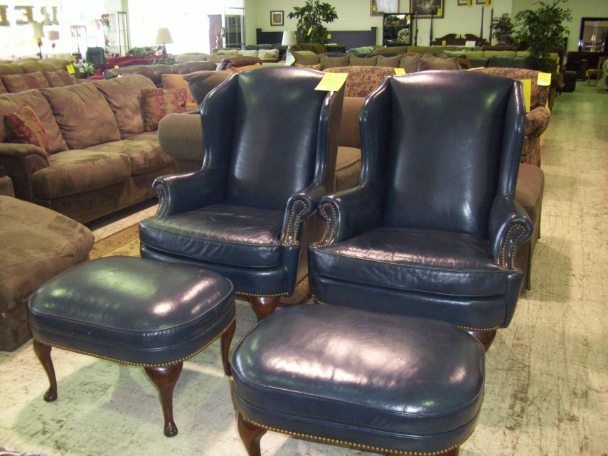 Leather Chair And Ottoman | Lane Leather Chair And Ottoman | Eames Leather Chair And Ottoman