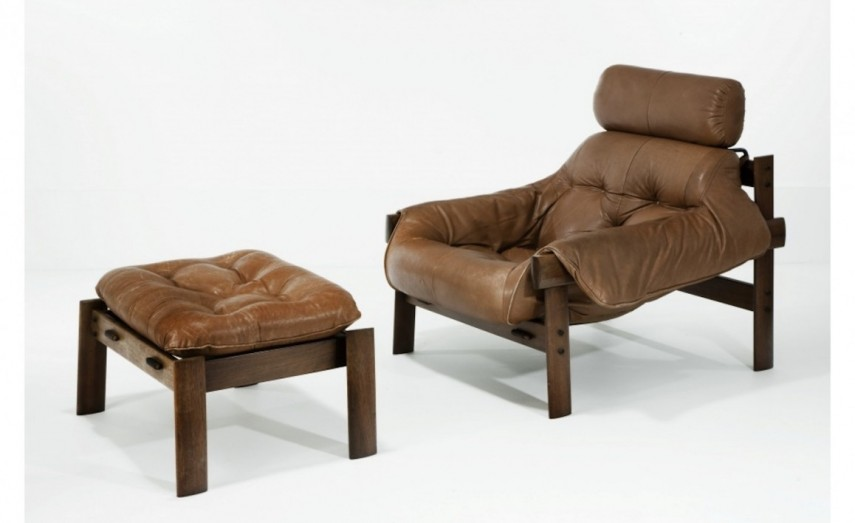Leather Chair And Ottoman | Lane Leather Chair And Ottoman | Ikea Comfy Chair