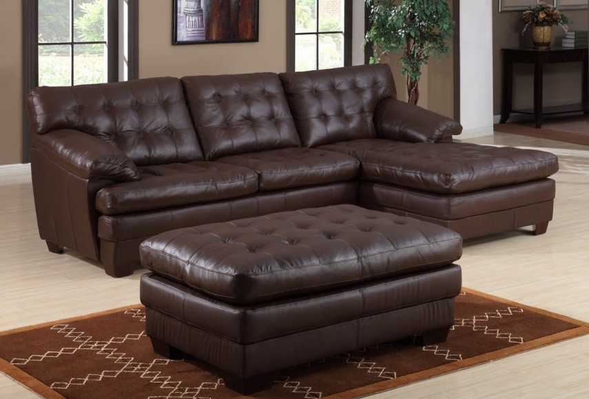 Leather Reclining Sectional   Modular Sofa   Large Sectional Sofas