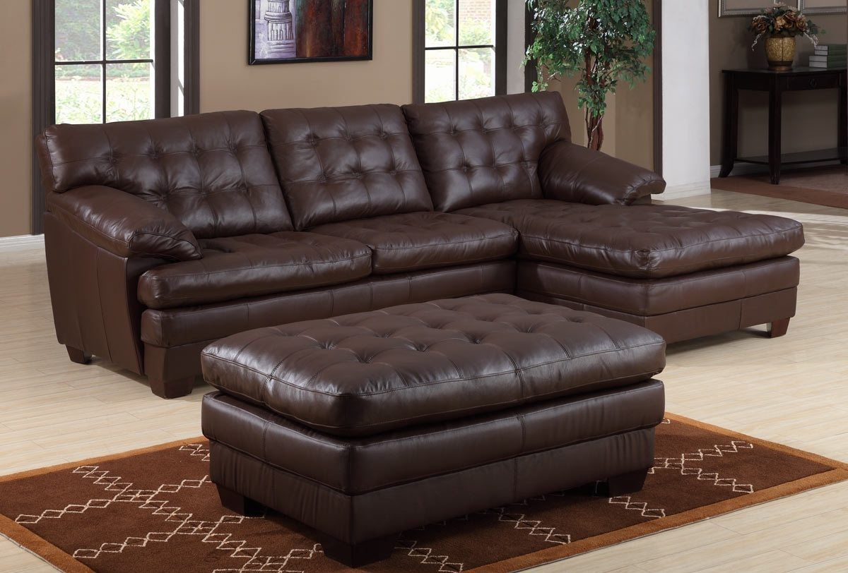 Leather Reclining Sectional | Modular Sofa | Large Sectional Sofas