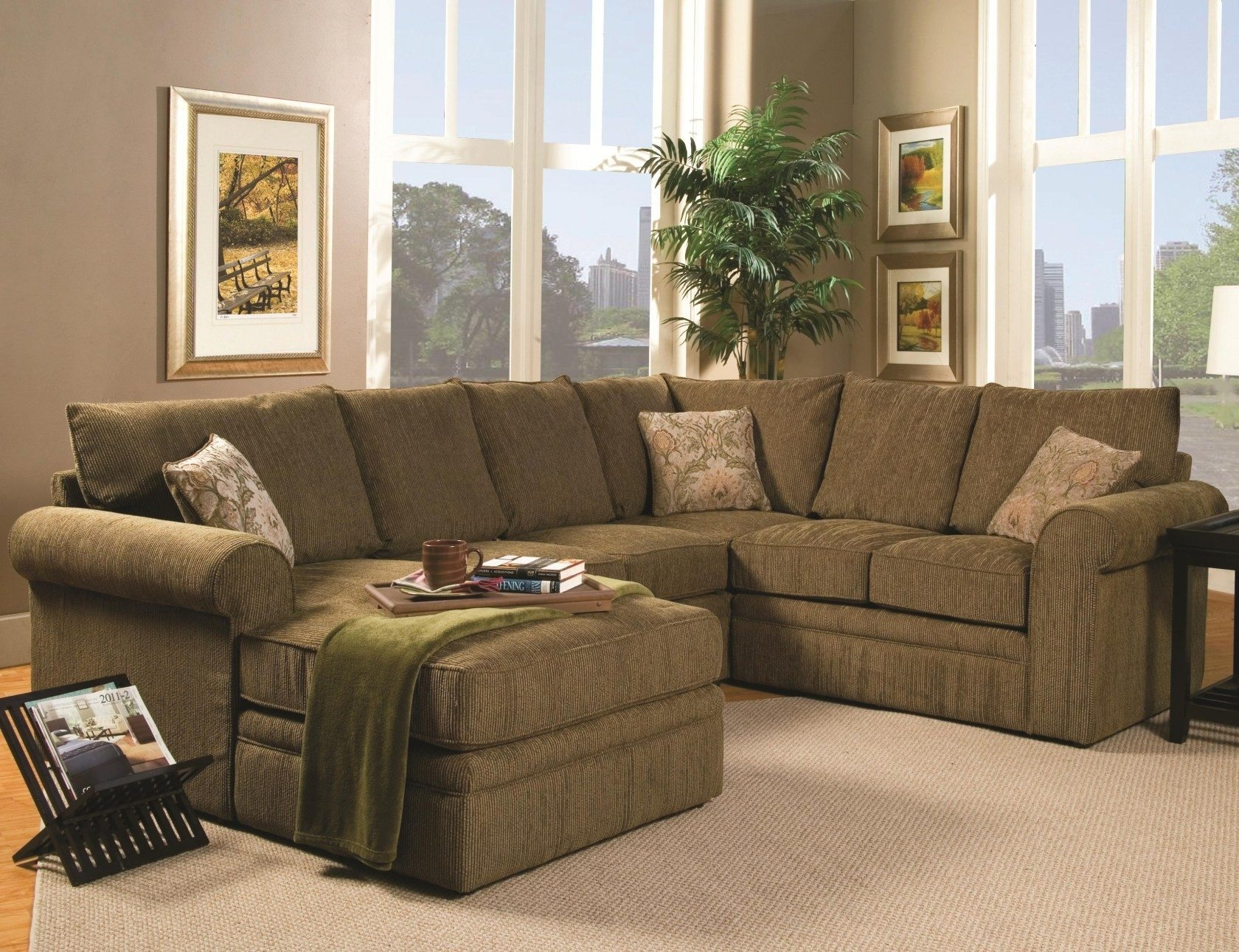 Leather Sectional | Curved Couch | Large Sectional Sofas