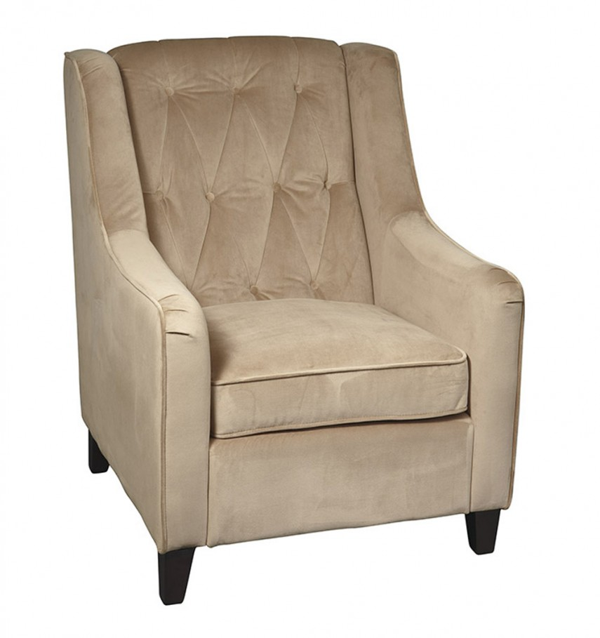 Leather Tufted Dining Chair | Floral Armchair | Tufted Chair
