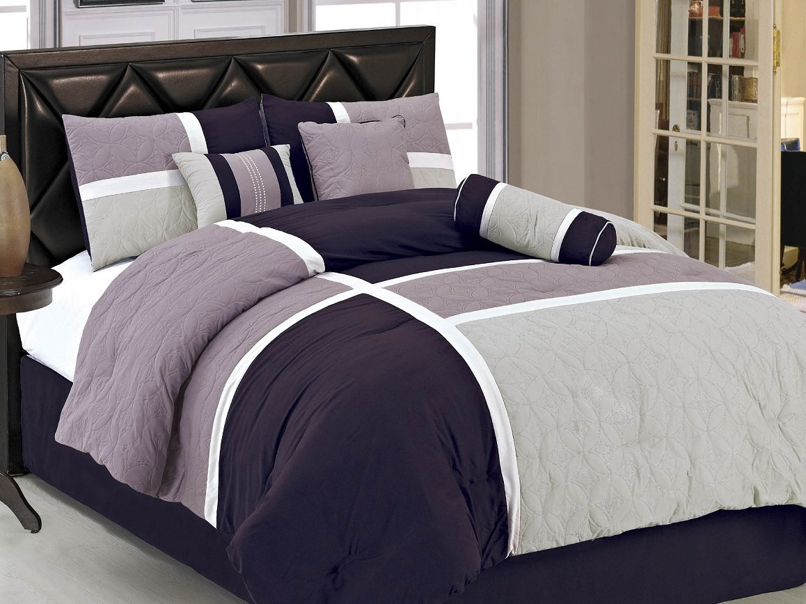 Light Purple Comforter Set | Purple Queen Comforter Set | Purple Comforter Sets