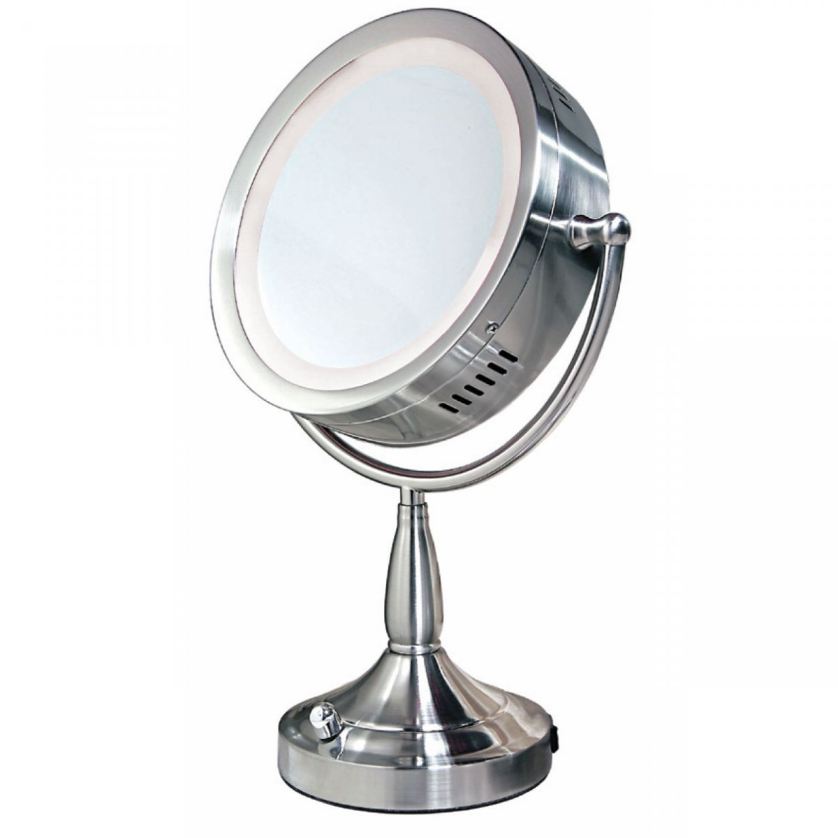 Lighted Vanity Makeup Mirror Table : Bedroom: Using Best Lighted Makeup Mirror For Pretty Home Accessories Ideas Stephaniegatschet.com