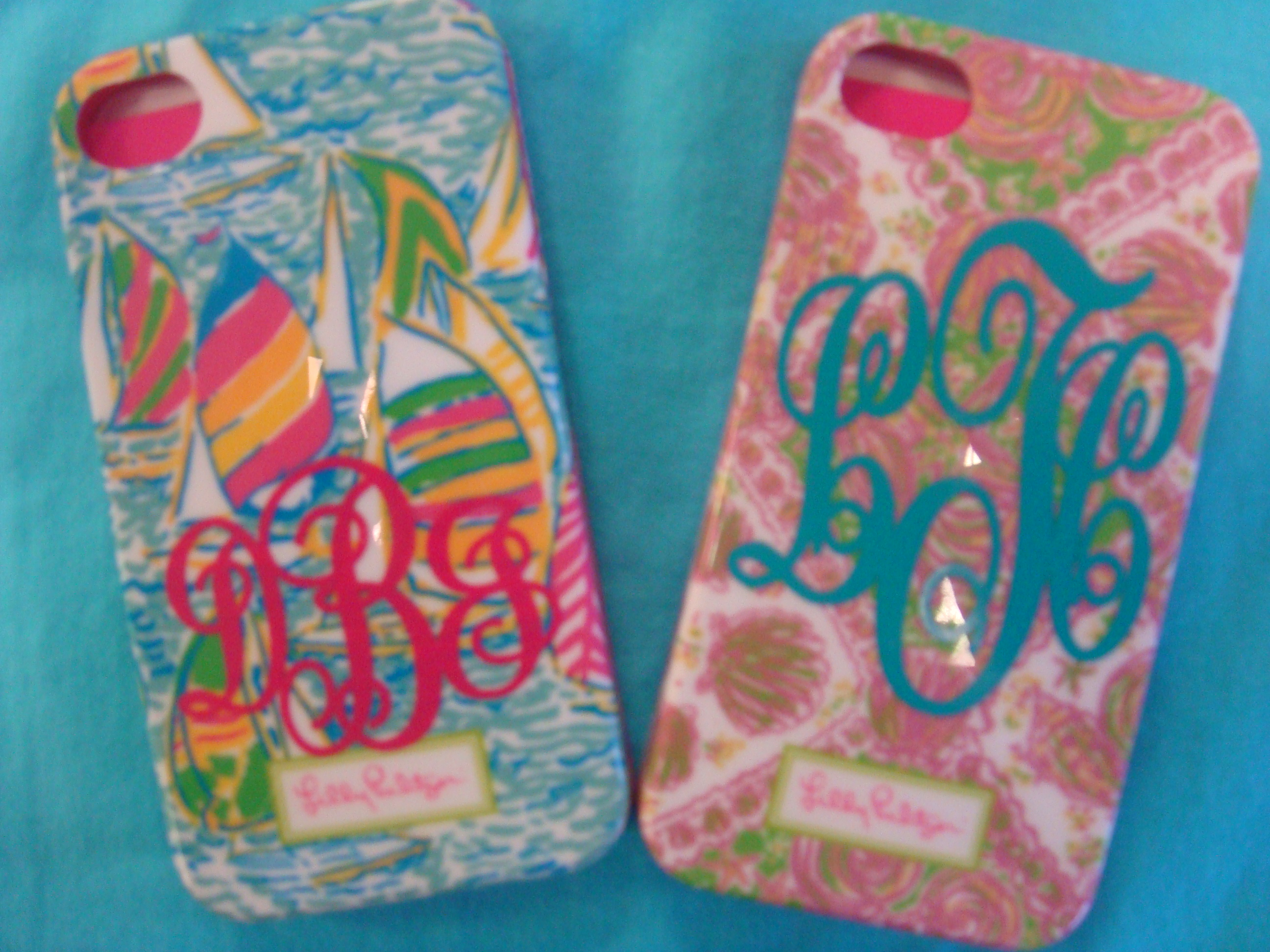 Lilly Pulitzer Phi Mu Fabric | Lilly Pulitzer Phone Case | Lilly Pulitzer Kindle Cover