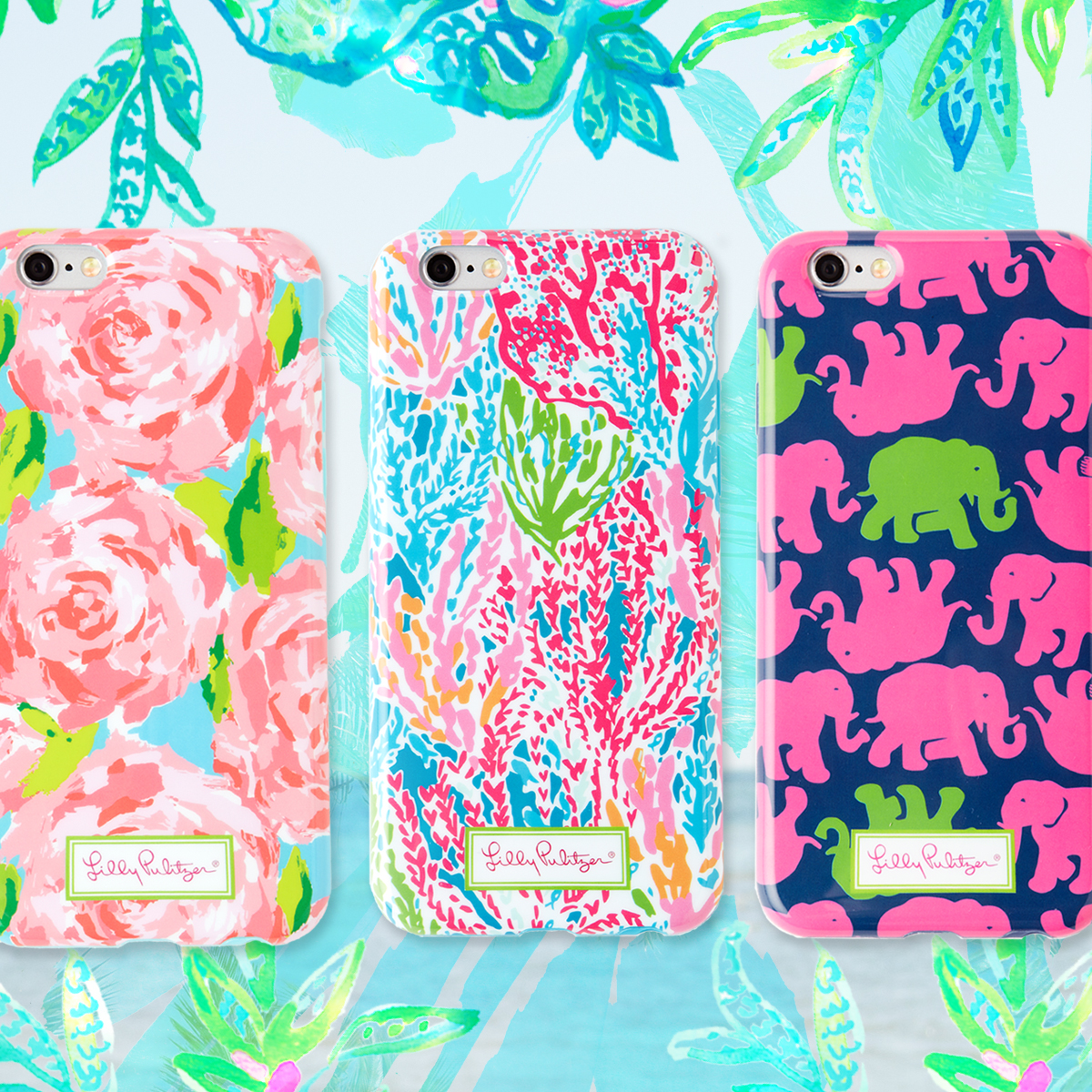 Lilly Pulitzer Phone Wallet | Lilly Pulitzer Id Holder | Lilly Pulitzer Phone Case