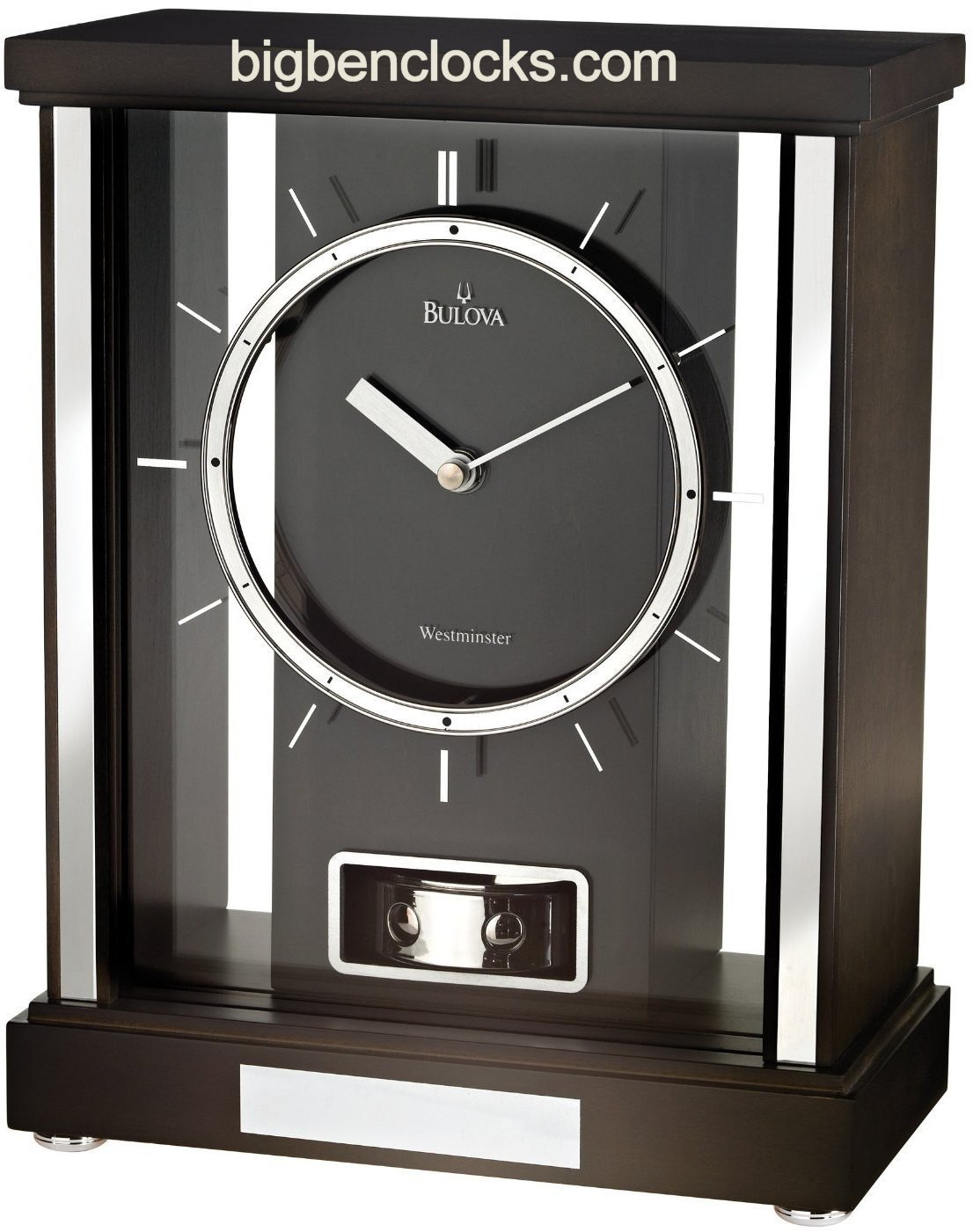 Linden Mantel Clocks | Bulova Mantel Clock | Bulova Clocks Value