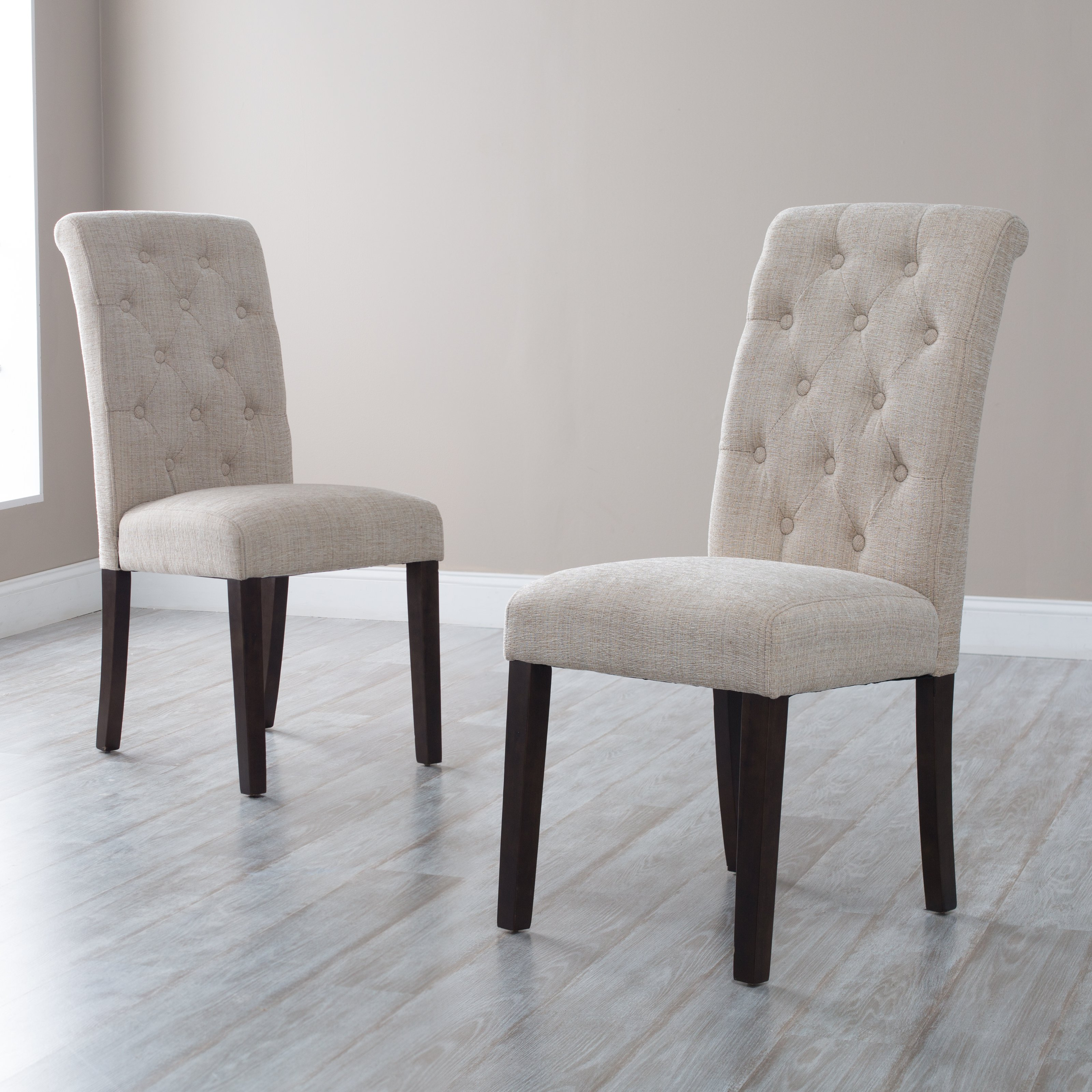 Linen Parsons Chair | Seagrass Dining Chairs | Tufted Dining Chair